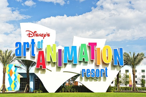 Walt Disney World - Disney's Art of animatie Resort