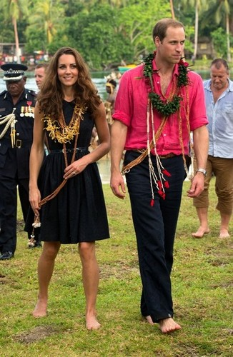 Will and Kate Visit the Solomon Islands