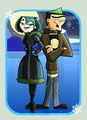 Winter scene duo - total-drama-island fan art