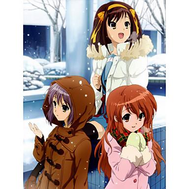 Winter scene with yuki asahina and nagato