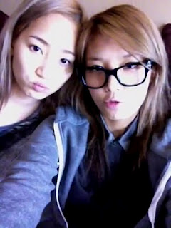 Ye Eun and Yubin