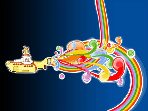 yellow submarine hd and background titled yellow submarine voltagebd Choice Image