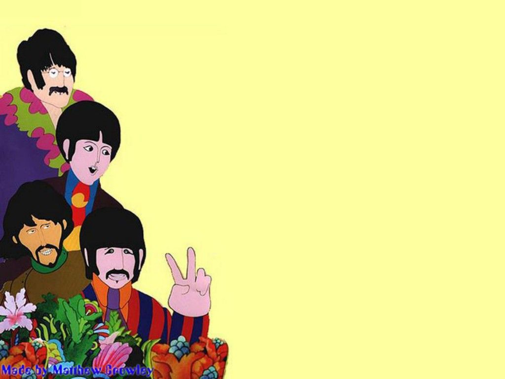 Yellow Submarine پیپر وال