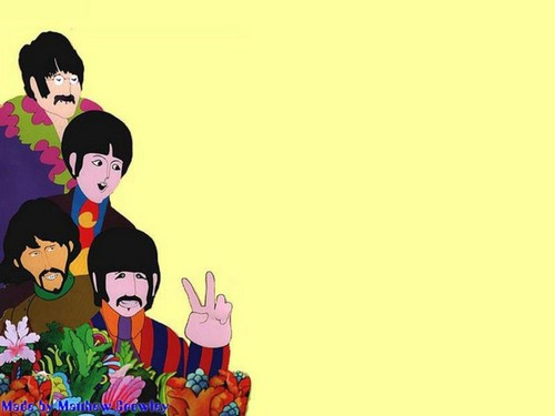 Yellow Submarine 바탕화면