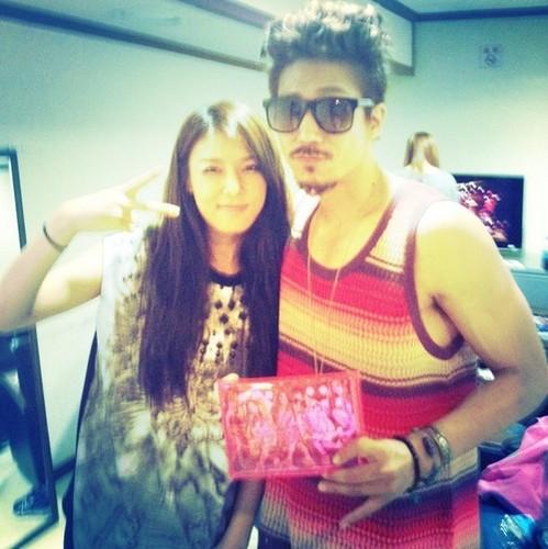 Yubin and Tiger JK