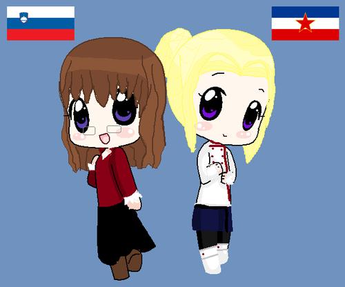 Yugoslavia and Slovania