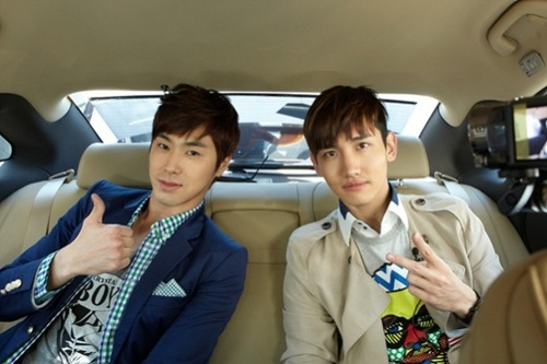 Yunho and Changmin! <3