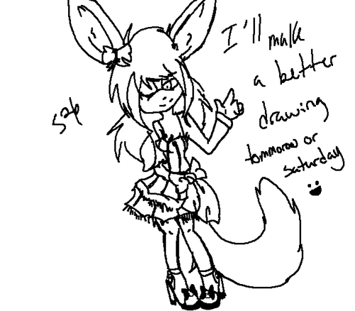 Zana's Dress .:Lazy Drawn:.