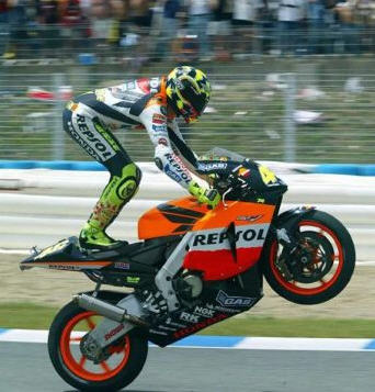 awesome Rossi <3