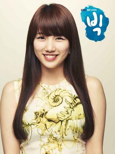 DARA 2NE1 wallpaper with a portrait entitled bae suzy miss a big kdrama