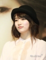 bae suzy miss a black hat - dara-2ne1 photo