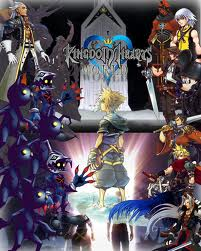 Kingdom Hearts karatasi la kupamba ukuta probably with a stained glass window called collage