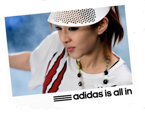 dara 2NE1 adidas all in