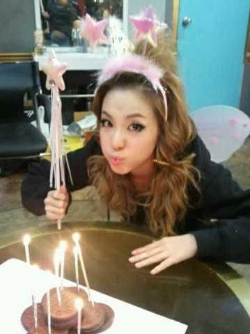 dara 2ne1 birthday 2010