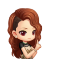 dara 2ne1 i love you chibi - dara-2ne1 fan art