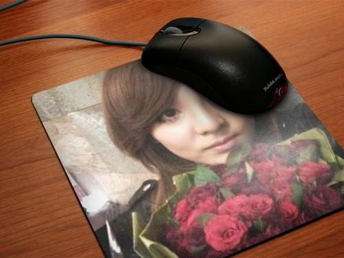 dara 2ne1 mouse pad