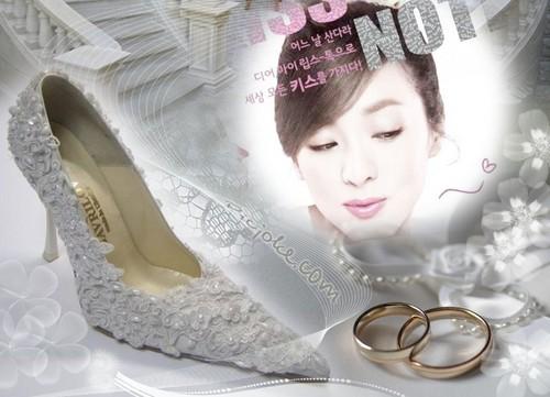 dara 2ne1 white wedding