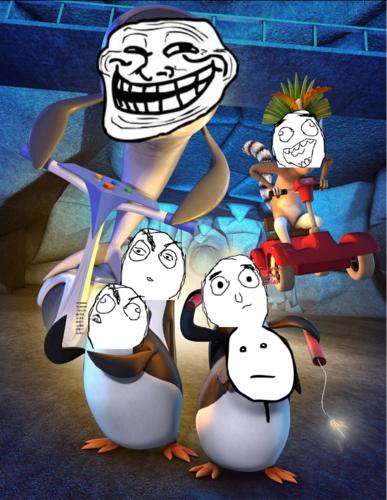derpguins of derpgascar the revenge of Dr. Trollhole