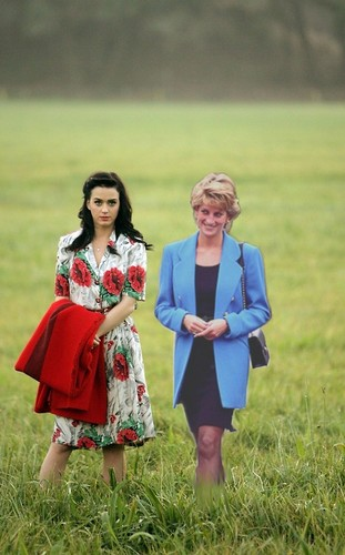 diana and katy pery