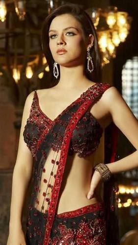 girl in saree