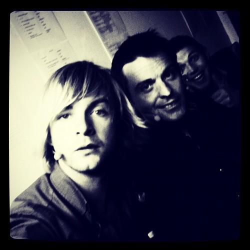 hoodz backstage (keith, ryan and colm)