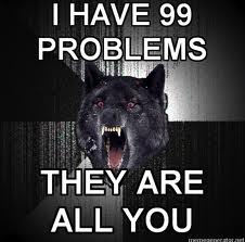 i have 99 problemes