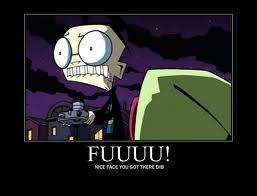 invader zim and Lenore Pics