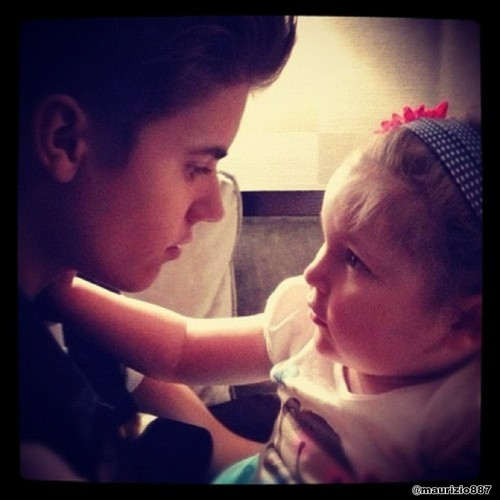justin bieber, instagram avalanna my Angel 2012