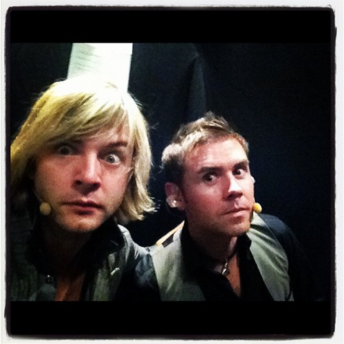 keith & neil backstage