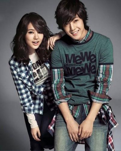 kim hyun jung with yoon eun hye - kim-hyun-joong Photo