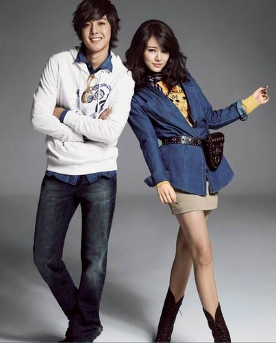 kim hyun jung with yoon eun hye