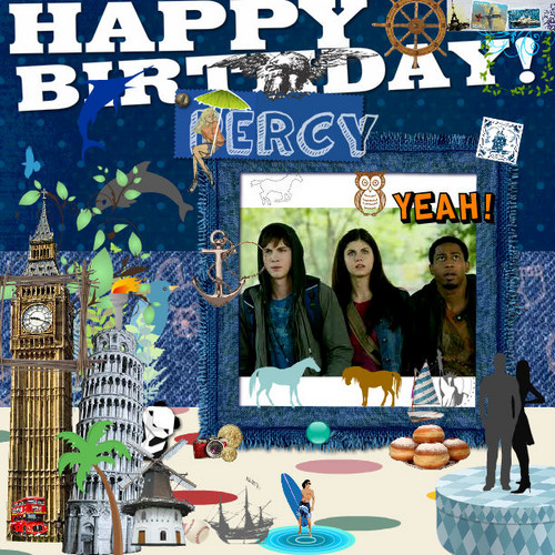 late birthday card for percy