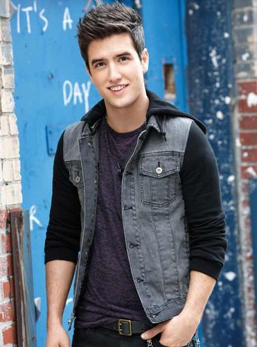 Logan Henderson wallpaper possibly with an outerwear called logan henderson