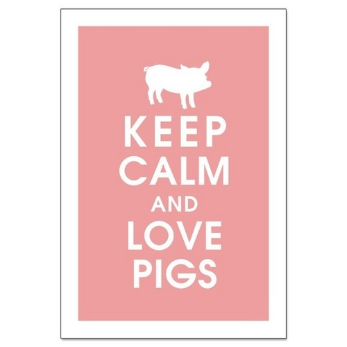 愛 pigs!