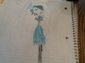 my free-hand sketch of Gwen's prom dress... - total-drama-island fan art