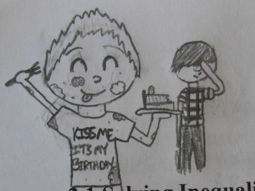 niall birthday cartoon