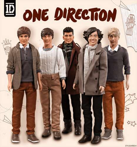 one direction bonecas - segundo edition