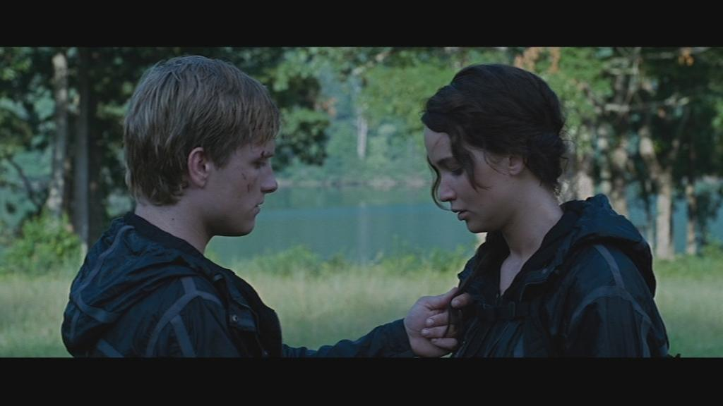 Is peeta dating katniss