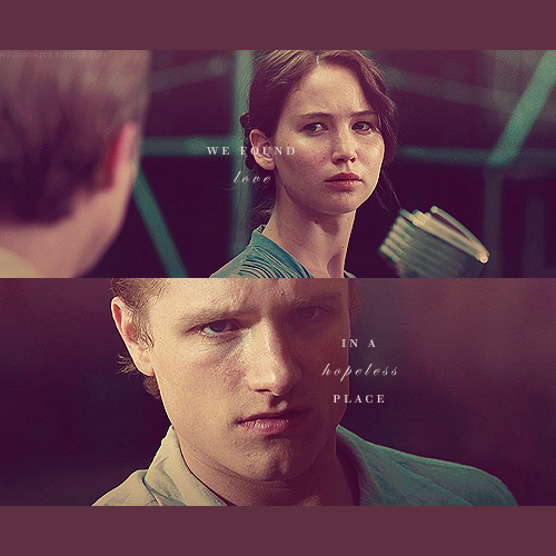 Peeta Mellark and Katniss Everdeen wolpeyper called peeta and katniss