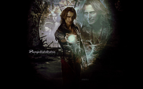 Once Upon A Time wallpaper containing a concert called rumpelstiltskin