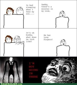 slender man+rage commic