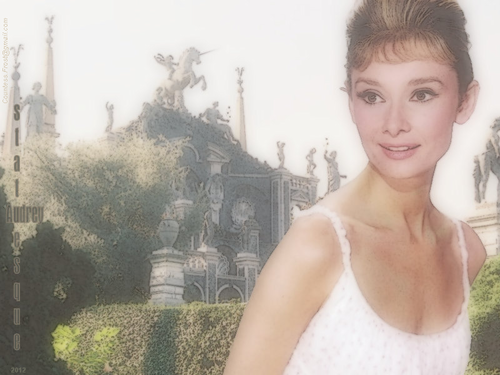 Audrey Hepburn wallpaper entitled statuesque Audrey