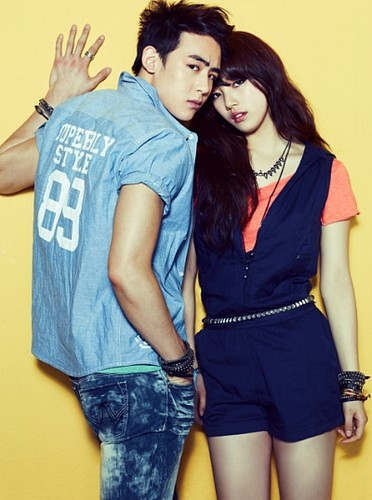 DARA 2NE1 Hintergrund probably with a playsuit, hot pants, and hot pants, hot-pants entitled suzy miss a nickchun 2pm