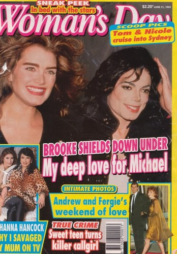 tabloid stories about Michael & Brooke