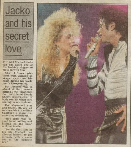 tabloids stories about Michael & Sheryl