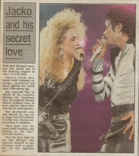 tabloids stories about Michael & Sheryl