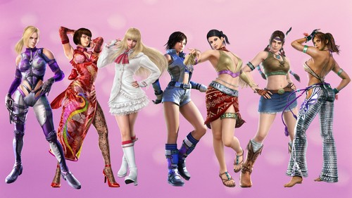 Tekken wallpaper possibly with a bikini and a swimsuit called tekken