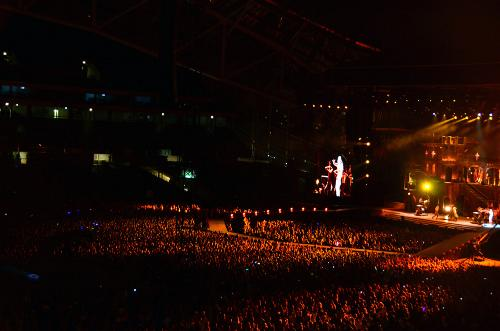 the Born This Way Ball Tour in Dublin