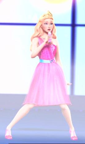 tori's pink dress