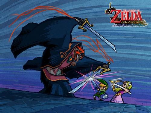 The Legend of Zelda wallpaper containing a parasol titled zelda ww wallpaper